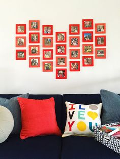 Image result for photo gallery home in heart shape