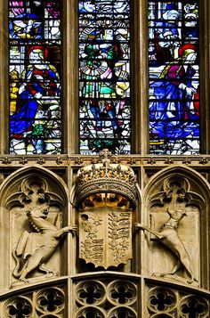King's Chapel: Heraldic Detail | Flickr - Photo Sharing!