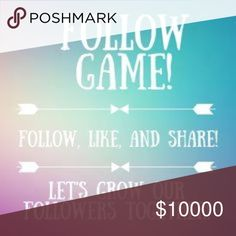 Follow Game! Like and Share! Gain More Followers! Like and Share! Free People Dresses