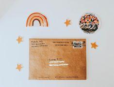 my favorite little reminder🌺🍊✨ Pen Pal Letters, Love Letters, Snail Mail Pen Pals, Cute Pens, Envelope Art, Handwritten Letters, Happy Mail, Letter Writing, Bullet Journal Inspiration