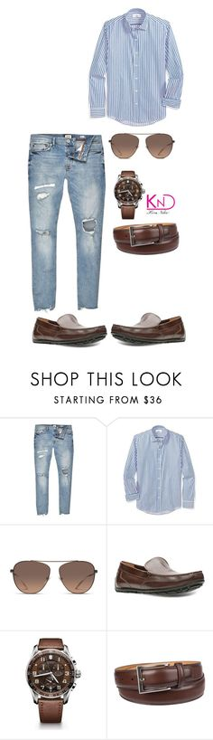 """""""Untitled #3434"""" by kenndee ❤ liked on Polyvore featuring River Island, Balenciaga, Clarks, Victorinox Swiss Army, Chaps, men's fashion and menswear"""