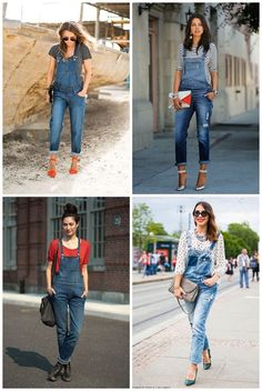 Be Fashionable With Denim Overalls