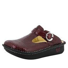 Classic Jazzy Wine Shoe