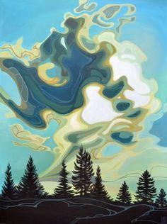 Art — Ottawa Art and Framing Abstract Landscape Painting, Landscape Art, Landscape Paintings, Contemporary Landscape, Creative Landscape, Contemporary Artists, Landscape Design, Canadian Art, Paintings I Love