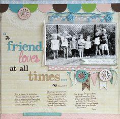 A Friend Loves...~Webster's Pages~ - Scrapbook.com