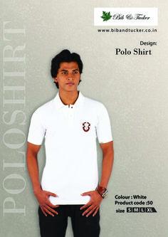 #Polo T shirt #22O Gsm, 100% Cotton