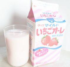 Ichigo milk flavor
