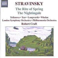 Stravinsky: The Rite of Spring / The Nightingale - Naxos CD. £6.95
