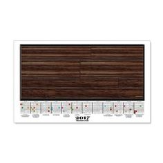 2017 Calendar Pecan Planks Wall Decal  More than 100 to choose from.  Follow this link   http://www.cafepress.com/cheylines/14087576