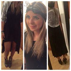 #mystyle #my closet #outfit #bellpants #fashion #boho #bohofashion #zin #animalprint #blackdress