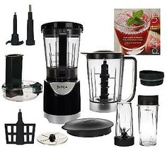 $99.84 Easy Pay! 3 Installments of $33.28, plus Tax and S & HNinja Kitchen System Pulse 48oz Blender w/ Slicer