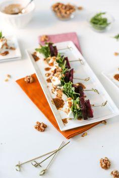 Beet Salad on a Stic