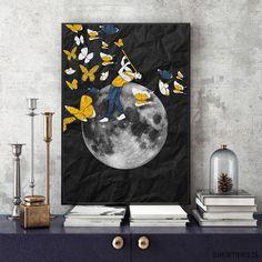 dodatki - plakaty, ilustracje, obrazy - inne-Zaklinacz Motyli... 30x40 cm.