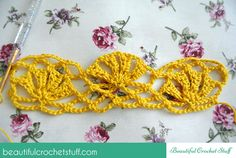 Beautiful Stitch With Photo Tutorial and Diagram