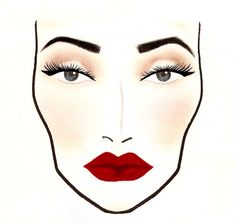 1930s makeup chart - Google Search