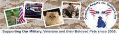 Guardian Angels for Soldier's Pets - Providing Foster Care  for The Beloved Pets of the Active Duty Deployed, Their Families, and Veterans.