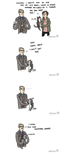 """#hannibal #willgraham """"Will, come back, I can't eat this"""" LOL"""