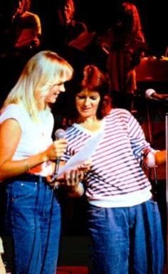 Anna and Frida started their preparations and rehearsals for the forthcoming world tour in May 1979.