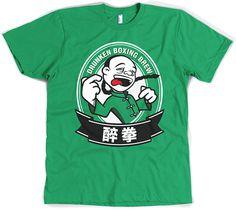 Drunken Boxing T-Shirt #tee #chinese #asian #drunk #drinking #alcohol #beer #design #illustration