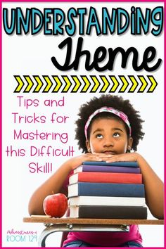 Identifying theme in literature in the classroom? I have tips & strategies to help your students understanding finding the central message of a story. This post includes activities for elementary students, mentor texts for finding theme, interactive activities for determining the theme of a text. Teaching theme is much more than worksheets. Engage your students while teaching theme (moral or lesson) in literature. (2nd grade, 3rd grade, 4th grade) (reading comprehension, reading strateg