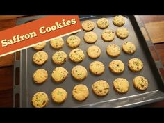 Saffron Cookies | Eggless Cookie Recipe | Food Videos