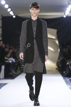 Damir Doma Menswear Fall Winter 2015 Paris