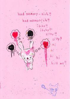 O d d l y a c c u r a t e Lila Baby, Sanrio, Vent Art, A Silent Voice, Bad Memories, Creepy Cute, Pink Aesthetic, Pastel Goth, In My Feelings