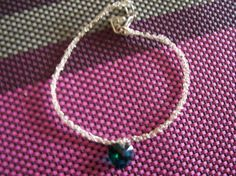STERLING SILVER KNITTED BRACELET. FREE SHIPPING