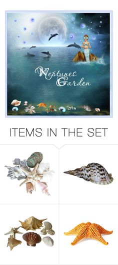 """""""Neptunes garden"""" by nicolencok ❤ liked on Polyvore featuring art"""