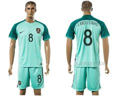 http://www.xjersey.com/portugal-8-jmoutinho-away-euro-2016-soccer-jersey.html PORTUGAL 8 J.MOUTINHO AWAY EURO 2016 SOCCER JERSEY Only 33.11€ , Free Shipping!