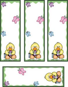 Easter Duck Bag, Easter, Favor Box - Free Printable Ideas from Family Shoppingbag.com