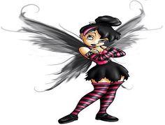 Evil fairy I like as a tattoo