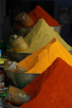 Spice markets - can't you just imagine the smell?!