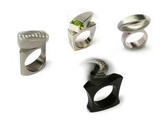 Beautiful and Creative Kinetic Rings! - Spicytec