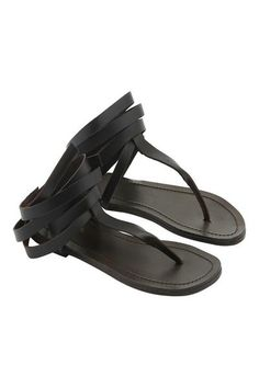 Rabens Saloner is a Danish brand where contemporary Western style meets the bohemian ethereal East in a fusion of colour and texture. These thong sandals are ma