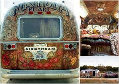 I think I'd classify this as camping....gypsy style.  :)