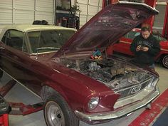 1968 Ford Mustang - Wilson Auto Repair in Texas are pros at repairing classic Ford Mustangs. Click on picture to find out more.