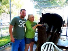 Oswald's Bear Ranch - on our honeymoon