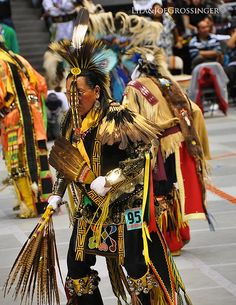 Indian Dancer. They are not just hopping around. It is a difficult step to keep doing and stay in time to the beat of the drum, of our hearts. You hit your heel first on ground then the front of your foot then down. Try it! Do it a hundred times in a row!! LOL