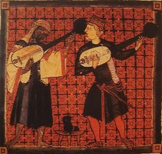 Christian and Muslim playing ouds Catinas de Santa Maria by king Alfonso X - Lute - Wikipedia, the free encyclopedia