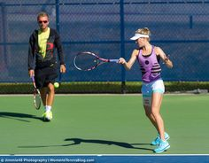 .@geniebouchard on the practice court at the @rogerscup this morning