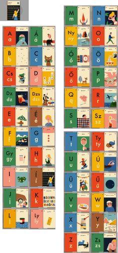 Anna Kövecses, Ábécés könyv - Hungarian alphabet