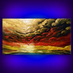art painting abstract painting Original painting art by mattsart