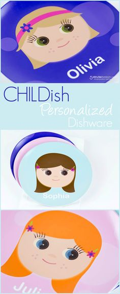 CHILDish Personalized Dishware — The Perfect Gift Idea for Kids