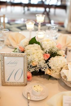 Wedding Table Numbers by www.etsy.com/shop/WhimsyBDesigns