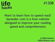 1000 life hacks is here to help you with the simple problems in life. Posting Life hacks daily to help you get through life slightly easier than the rest! Simple Life Hacks, Useful Life Hacks, Life Hacks Websites, School Life Hacks, Life Image, 1000 Lifehacks, Motivation, Speed Reading, Reading Skills