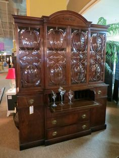 Unique china cabinet at TOO GOOD TO BE THREW #toogoodsa