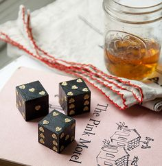 heart dice DIY