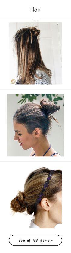 """Hair"" by gracebeckett on Polyvore featuring accessories, hair accessories, hair, hairstyles, cabelos, hair styles, beauty, adjustable headbands, head wrap hair accessories e hair band headband"