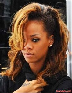 Rihanna 2014   Thread: rihanna ombre 2014 Rihanna's New Hair 2014